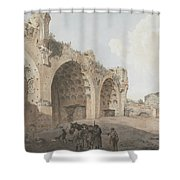 Rome Landscape Shower Curtain
