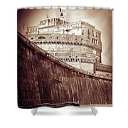 Rome Monument Architecture Shower Curtain