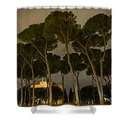 Rome - On The Road Shower Curtain