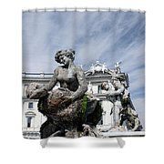 Rome Piazza Shower Curtain