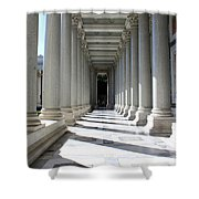 Rome Pillars Shower Curtain