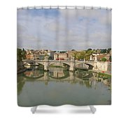 Rome Reflections Shower Curtain