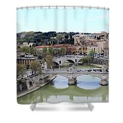 Rome River Shower Curtain