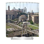 Rome The Old New World Shower Curtain