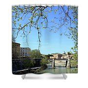 Rome's River Shower Curtain