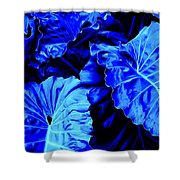 Romney Blue Shower Curtain