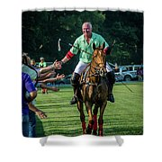 Ron Victory Lap Shower Curtain