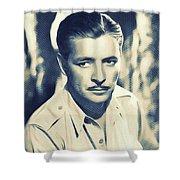 Ronald Colman, Hollywood Legend Shower Curtain
