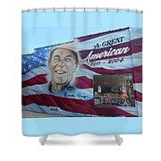 Ronald Reagan 1 Shower Curtain