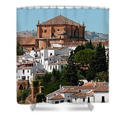 Ronda. Andalusia. Spain Shower Curtain by Jenny Rainbow