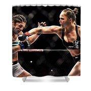 Ronda Jean Rousey  Shower Curtain