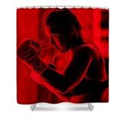 Ronda Jean Rousey Mma Shower Curtain
