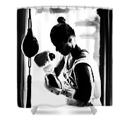 Ronda Rousey On Target Shower Curtain