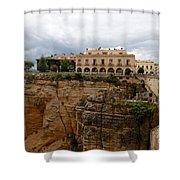 Ronda Spain- The Puente Nuevo Shower Curtain