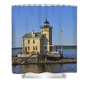 Rondout Light Shower Curtain