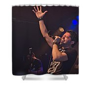 Ronnie Romero 10 Shower Curtain