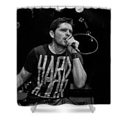 Ronnie Romero 16 Shower Curtain