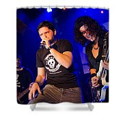 Ronnie Romero 43 Shower Curtain