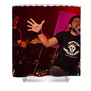 Ronnie Romero 47 Shower Curtain