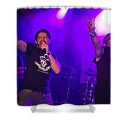 Ronnie Romero 63 Shower Curtain