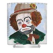 Ronnie The Clown Shower Curtain