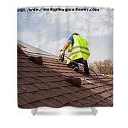 Roof Repair Morgantown Wv Shower Curtain