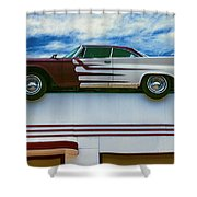 Roof Top Car Shower Curtain
