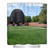 Roofless Church Shower Curtain
