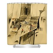 Roofs And Steeple Shower Curtain