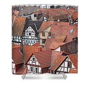Roofs Of Bad Sooden-allendorf Shower Curtain by Heiko Koehrer-Wagner