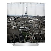 Roofs Of Paris. France Shower Curtain