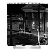 Rooftop Court Shower Curtain