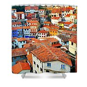 Rooftop View Shower Curtain