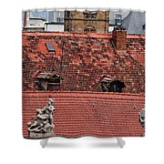 Rooftops Of Bamberg II Shower Curtain