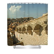 Rooftops Of Dubrovnik  Shower Curtain