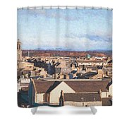 Rooftops Of Elgin Shower Curtain