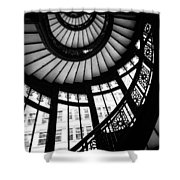 Rookery Stairwell Shower Curtain