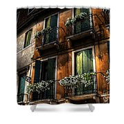 Rooms With A View Shower Curtain
