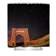Roosevelt Arch Shower Curtain