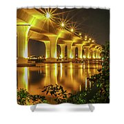 Roosevelt Casts Reflection Shower Curtain