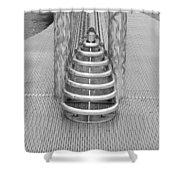 Roosevelt Island  Bench Shower Curtain