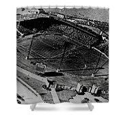 Vintage - Roosevelt Stadium Shower Curtain