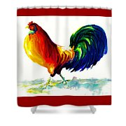 Rooster - Big Napoleon Shower Curtain