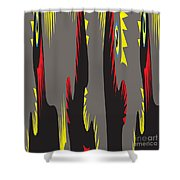 Rooster Morning Wake Up Call Shower Curtain