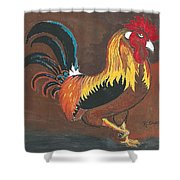 Rooster#1 Shower Curtain