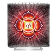Root Chakra - Series 4 Shower Curtain