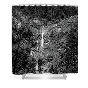 Root Creek Falls Shower Curtain