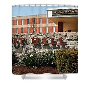 Root Hall 1 Shower Curtain