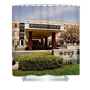 Root Hall 2 Shower Curtain