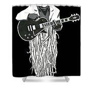 Root Music 2 Shower Curtain